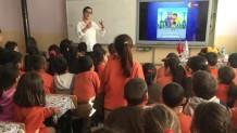 Kargapazarında İlkokul Öğrencilerine Eğitim Faaliyeti
