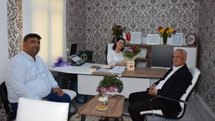 Kozan Sancak Gazetesi Yönetimi Ziyaretimize Geldiler