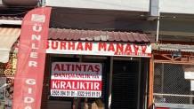 Karacaoğlan mahallesinde kiralık işyeri